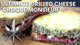 Ultimate Grilled Cheese 'Croque Monsieur'