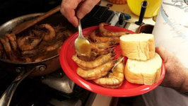 Cooking On A Sailboat - New Orleans Famous Shrimp - SV Southern Lady