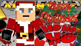 Minecraft Christmas - Little Donny - CHRISTMAS SHOPPING & SANTA'S GROTTO w/ Donut The Dog