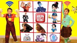 RALPH BREAKS THE INTERNET Giant Smash Surprise Toys Wall Game WRECK-IT RALPH 2
