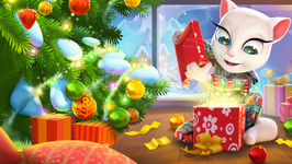 Merry Christmas from Talking Angela - Ep 4