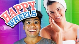 Naked Woman In 21 Seconds - Happy Wheels No.3