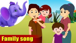 Family Song - Learning Song For Children