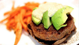 Bunless Portobello Burgers - Rule Of Yum Recipe