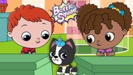 Barkie Goes Missing - Bottle Squad Adventures - Superhero Kids - Super heroes - Baby Videos