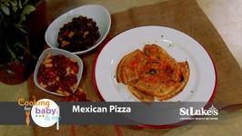 Chef Anthony Bonett - Mexican Pizza And Chana Saag Style Kidney Beans And Spinach