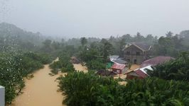 Tropical Depression Kai-tak Causes Flooding in Central Philippines