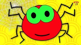 Incy Wincy Spider - Nursery Rhyme with Lyrics - Green Eyed Spider