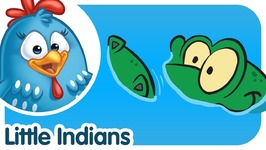 Ten Little Indians - Lottie Dottie Chicken - Kids Songs and Nursery Rhymes in English