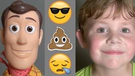 Toy Story 4 - Emoji Body Snatchers - Woody Buzz Lightyear Slinky Dog