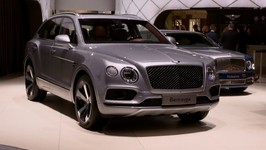 Bentley Bentayga V8 at 2018 Geneva Motor Show