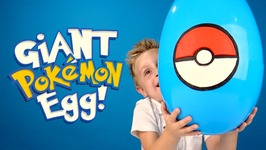 Pokemon Go Giant Play-Doh Surprise Egg With A Pokemon Toys Unboxing