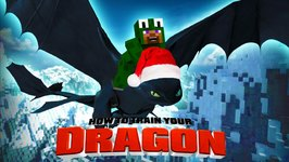 Minecraft - HOW TO TRAIN YOUR DRAGON - Christmas Time 36