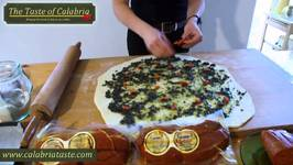 Italian Recipe - Grissini With Black Olives And Nduja