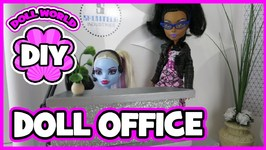 How to Make a Doll Office Doll Crafts