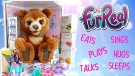 Cubby the Curious Bear Tea Party from FurReal Review