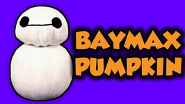 Halloween Big Hero 6 Baymax Pumpkin - Fun Kids Crafts For Halloween - Arts And Crafts With Crafty Carol