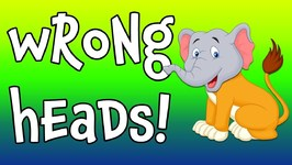 Wrong Heads - Wild Animal Matching Game for Children