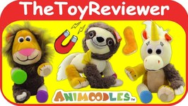 Animoodles Mix and Match Plushies Stuffed Animals Plush Magnet Unboxing Toy Review