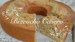 Bizcocho Casero Esponjoso Paso A Paso / Bizcocho Esponjoso Casero / Como Hacer Un Bizcocho Casero