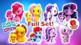 McDonalds MLP Cutie Mark Crew Full Set - My Little Pony 2018 Happy Meal Toys