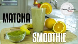 Strawberry Banana Matcha Smoothie