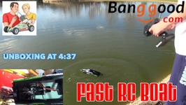 Volantex Brushless boat - V797-3 - Run and Review