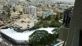 Toxic Froth Covers Bengaluru Lakes, 'Trapping' Residents Indoors