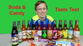 Soda Taste Test And Candy Taste Test From Rocket Fizz