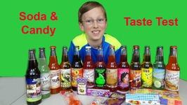 Soda Taste Test And Candy Taste Test From Rocket Fizz