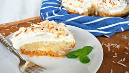 Dessert Recipe-Dreamy Coconut Cream Pie