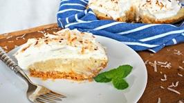Dessert Recipe-Dreamy Coconut Cream Pie