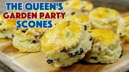 Queen Elizabeth's Garden Party Scones