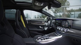 The All New Mercedes-AMG GT 63 S 4MATIC  4-Door Coupe Interior Design