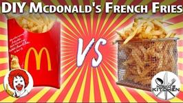 Mcdonalds Vs Homemade  DIY Mcdonald's French Fries Recipe