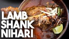 Lamb Shank Nihari - Mutton Meat Stew - Kravings
