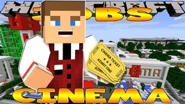 Minecraft - Little Donny Adventures - CINEMA JOB FOR THE DAY