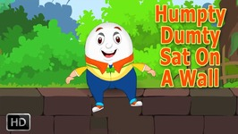 Humpty Dumpty Sat On A Wall With Lyrics - Baby Songs - Nursery Rhymes For Children