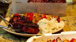 BBQ Pork Short Ribs With Dinner