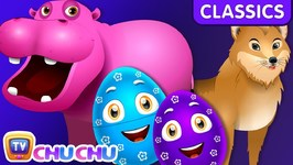 ChuChu TV Classics - Learn Wild Animals and Animal Sounds - Surprise Eggs Wildlife Toys