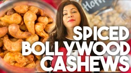 Spiced BOLLYWOOD CASHEWS - Edible Gifts