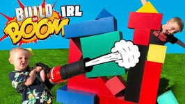 Build Or Boom Game In Real Life Diy Family Fun And Backyard Challenge