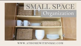Small Space Organization  Kitchen Organization  Apartment Living