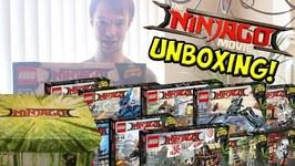LEGO Ninjago Movie Mystery Unboxing