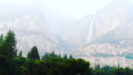 Yosemite National Park's Iconic Scenery Shrouded By Smoke From Detwiler Fire
