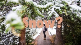 Snow in September - Winter Photography in Canada
