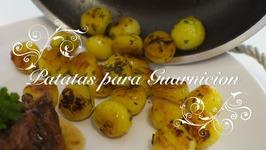 Patatas Para Guarnicion  Guarniciones Para Carnes  Patatas De Guarnicion  Patatas Parisinas
