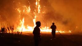 Volunteers Help Battle Deadly Portuguese Wildfires