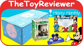 February 2017 Mickey Monthly Original Classic Subscription Box Unboxing Toy Review