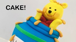 Adorable Winnie The Pooh Cake!